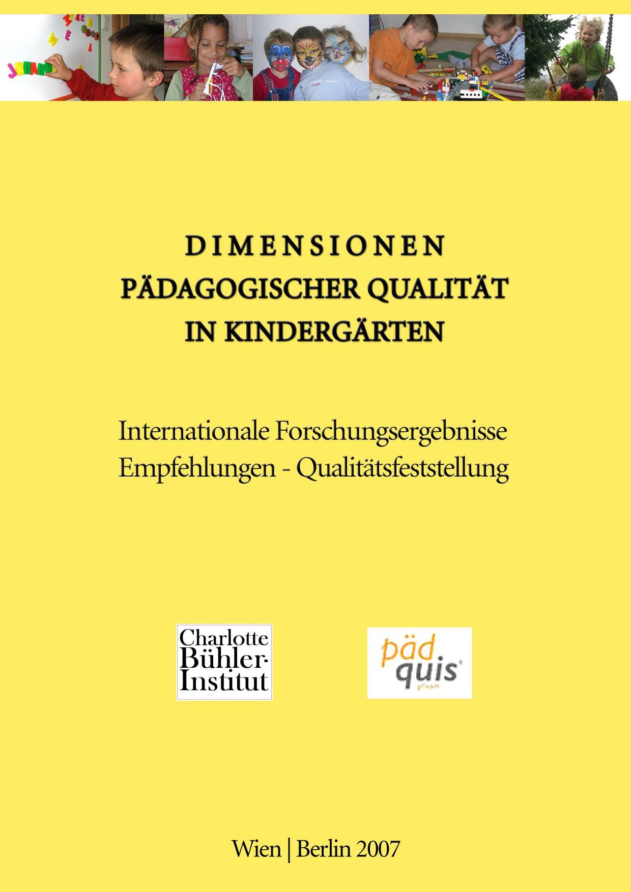 Dimensionen pädagogischer Qualität in Kindergärten