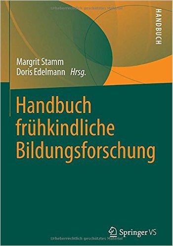 """Beitrag """"Inklusive Begabtenförderung"""" im Handbuch Frühkindliche Bildungsforschung"""