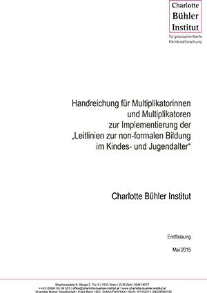 """Training für Multiplikatorinnen und Multiplikatoren zu den """"Leitlinien zur non-formalen Bildung im Kindes- und Jugendalter"""", Luxemburg"""