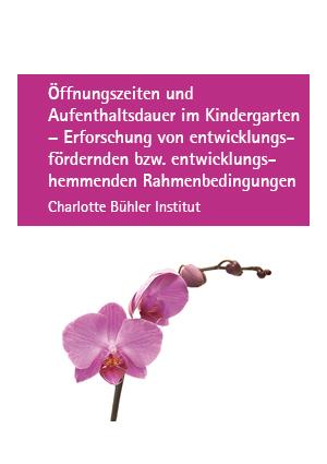 Öffnungszeiten und Aufenthaltsdauer im Kindergarten – Erforschung von entwicklungsfördernden bzw. entwicklungshemmenden Rahmenbedingungen (1994)